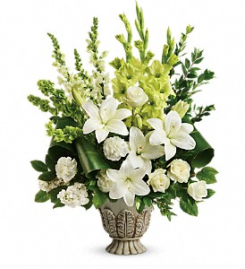 Teleflora's Clouds Of Heaven Bouquet in McHenry IL, Locker's Flowers, Greenhouse & Gifts