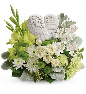 Teleflora's Hearts In Heaven Bouquet in Merced CA, A Blooming Affair Floral & Gifts