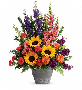 Teleflora's Hues Of Hope Bouquet in McHenry IL, Locker's Flowers, Greenhouse & Gifts