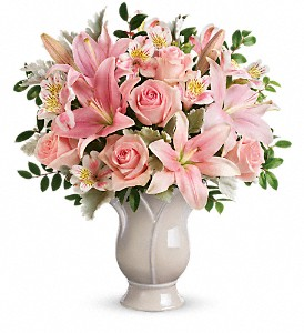 Teleflora's Soft And Tender Bouquet in College Station TX, Postoak Florist