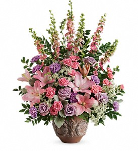 Teleflora's Soft Blush Bouquet in Eugene OR, Dandelions Flowers