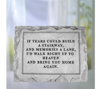 If Tears Could Build Stone in Indianapolis IN, George Thomas Florist