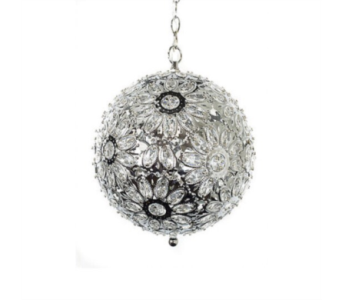 Crystal Jeweled Globe Light in Oviedo FL, Oviedo Florist