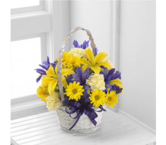 The FTD Spirit of Spring Basket in Southfield MI, Thrifty Florist