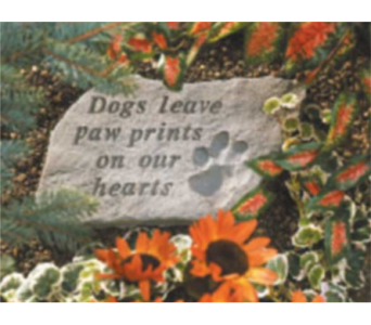 Dog Memorial Plaque in Oviedo FL, Oviedo Florist