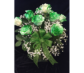 Luck of the Irish Roses in Wynantskill NY, Worthington Flowers & Greenhouse