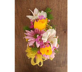 Spring Corsage in Raleigh NC, North Raleigh Florist