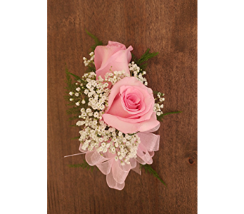 Pink Rose Corsage in Raleigh NC, North Raleigh Florist