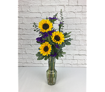 Heavenly Sunflowers in Raleigh NC, North Raleigh Florist