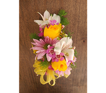 Spring Corsage in Cary NC, Cary Florist