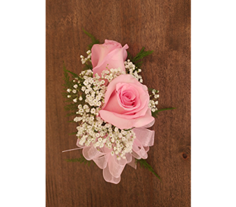 Pink Rose Corsage in Cary NC, Cary Florist