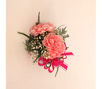 Pink Carnation Corsage in Cary NC, Cary Florist