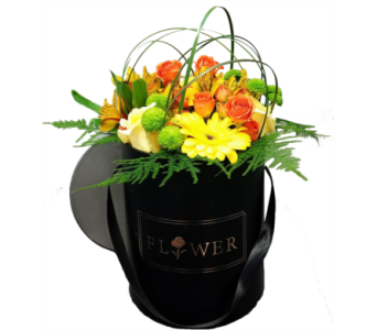 Hat Boxed Flowers in Ottawa ON, The Fresh Flower Company