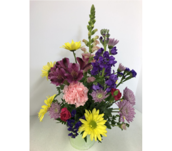 EASTER BASKET BOUQUET in Geneva NY, Don's Own Flower Shop