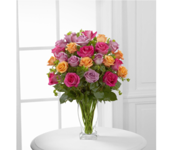 The FTD Pure Enchantment Rose Bouquet in Southfield MI, Thrifty Florist