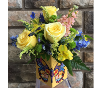 Teleflora Wings Of Thanks Bouquet in Staten Island NY, Kitty's and Family Florist Inc.