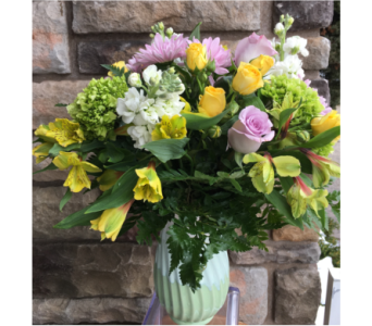 Teleflora's Art Of Spring in Staten Island NY, Kitty's and Family Florist Inc.