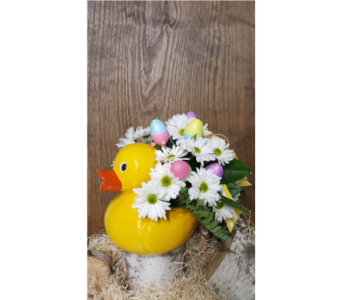HAPPY EASTER'S DUCK in Laval QC, La Grace des Fleurs