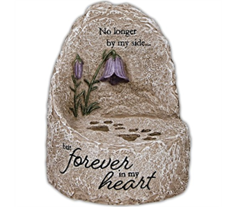Pet Memorial - Tabletop Stone in Alliston, New Tecumseth ON, Bern's Flowers & Gifts