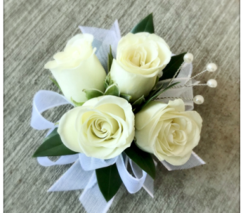 Timeless Elegance Wrist Corsage in Schofield WI, Krueger Floral and Gifts
