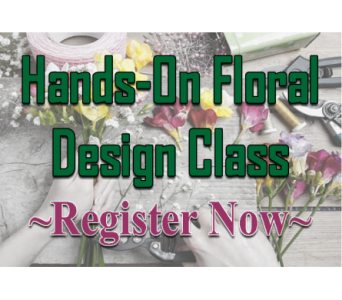 Big Rapids April Class in Big Rapids MI, Patterson's Flowers, Inc.