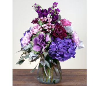 Purple Wonders  in Merrick NY, Feldis Florists