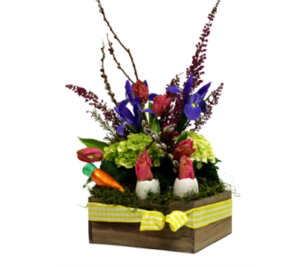 Easter Bounty Centerpiece  in Detroit and St. Clair Shores MI, Conner Park Florist