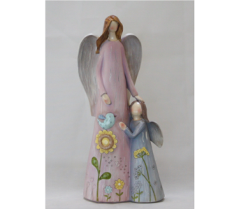 Mother Daughter Angel Figure in Westland MI, The Flower Shop