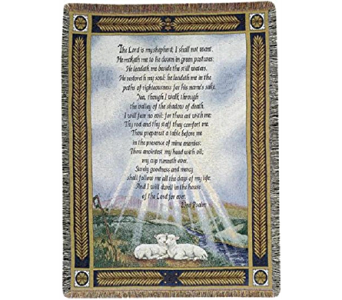 Psalm Tapestry Throw in Kalispell MT, Flowers By Hansen, Inc.