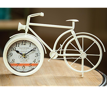 Vintage Bicycle Shaped Table Clock in Kalispell MT, Flowers By Hansen, Inc.