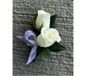 Timeless Elegance Boutonniere in Schofield WI, Krueger Floral and Gifts