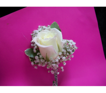 elegant white rose bout in Hagerstown MD, Chas. A. Gibney Florist & Greenhouse