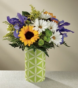 The Sunflower Sweetness� Bouquet in Sapulpa OK, Neal & Jean's Flowers & Gifts, Inc.