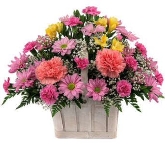 Spring basket in Bismarck ND, Dutch Mill Florist, Inc.