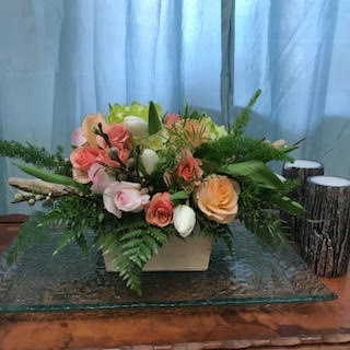 Rustic Spring Centerpiece in Knoxville TN, The Flower Pot