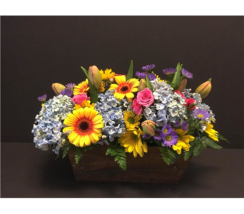Rustic Easter Box in Winthrop MA, Christopher's Flowers