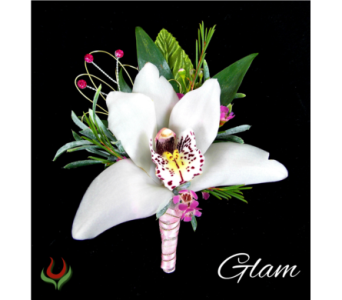 Glam Boutonniere in Indianapolis IN, Steve's Flowers and Gifts