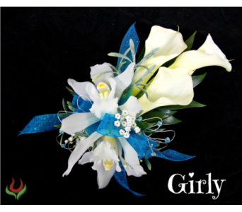 Girly Corsage in Indianapolis IN, Steve's Flowers and Gifts