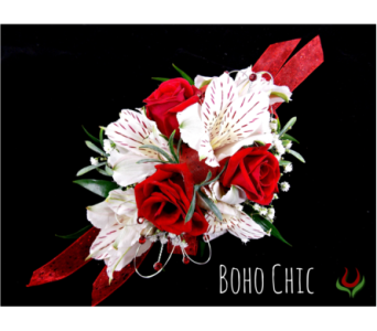 Boho Chic Corsage in Indianapolis IN, Steve's Flowers and Gifts