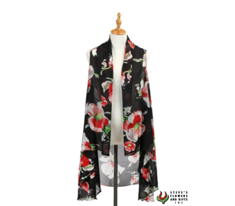 Black Poppy Vest in Indianapolis IN, Steve's Flowers and Gifts