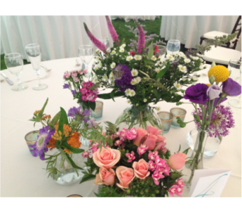 HW Weddings in Mount Kisco NY, Hollywood Flower Shop