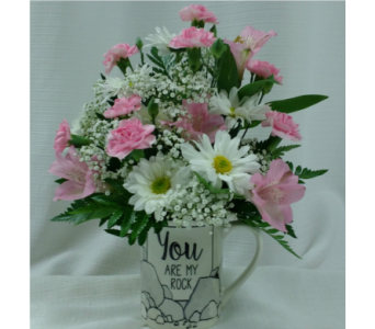 You Are My Rock in Belleville ON, Barber's Flowers Ltd