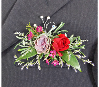 Pocket Boutonniere in Indianapolis IN, Steve's Flowers and Gifts