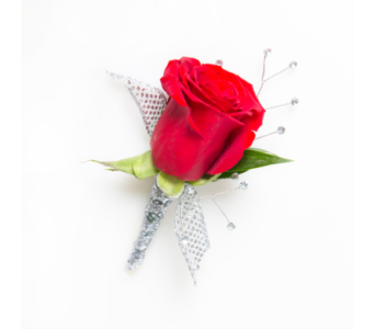 Rose w/ Rhinestones in Little Rock AR, Tipton & Hurst, Inc.