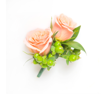 Spray Rose Boutonniere  in Little Rock AR, Tipton & Hurst, Inc.