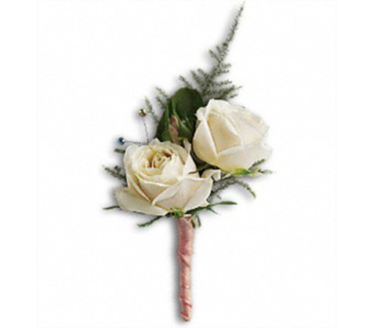 White Tie Boutonniere in Campbell CA, Citti's Florists