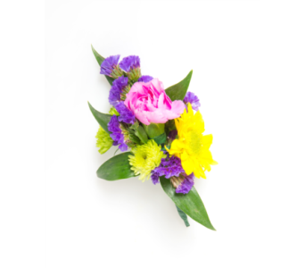 Bright Mix Boutonnniere in Little Rock AR, Tipton & Hurst, Inc.