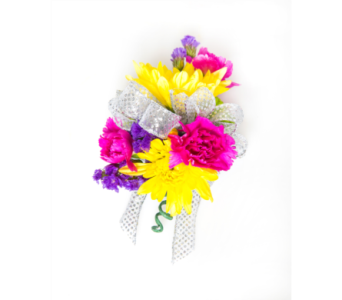 Bright Mix Wrist Corsage in Little Rock AR, Tipton & Hurst, Inc.