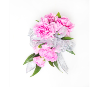 Carnation Wristlet Corsage in Little Rock AR, Tipton & Hurst, Inc.