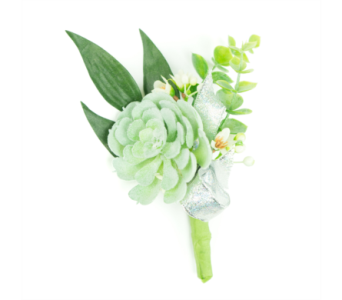 Succulent Boutonniere in Little Rock AR, Tipton & Hurst, Inc.